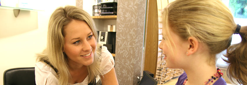 Hayes Opticians - customer service picture
